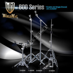 World Max H600W - statyw pod hi-hat