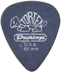 Dunlop Tortex Pitch Black 0,6mm - kostka do gitary