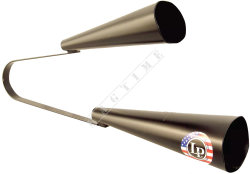 Latin Percussion LP579 Dry Agogo Large - agogo metalowe