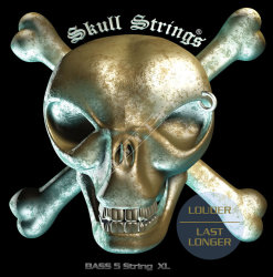 Skull Strings BASS Line B5 XL 40-125 - struny do gitary basowej