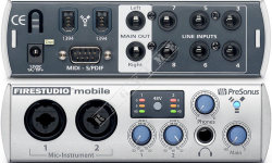 Presonus Firestudio Mobile - Interface Firewire