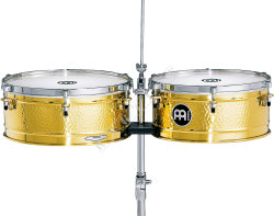 "Meinl LC1BRASS Timbales 14"" + 15"""