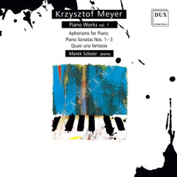 Dux 923 Krzysztof Meyer Works for Piano vol. 1