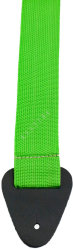"Perri's 6768 2"" Poly Pro Lime Green - pasek do gitary"