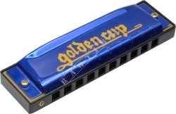 Golden Cup JH 1020-1 Blue Bb - harmonijka ustna