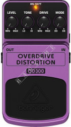 Behringer OD300 Overdrive/Distortion - efekt gitarowy