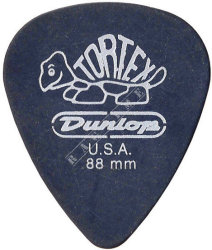 Dunlop Tortex Pitch Black 0,88mm - kostka do gitary