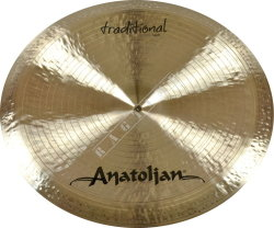 "Anatolian 20"" Traditional Swish China - talerz perkusyjny"