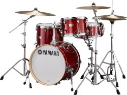 Yamaha SBP8F3CR Stage Custom BeBop Set Cranberry Red - zestaw perkusyjny