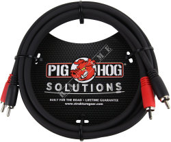 Pig Hog PD-RCA06 - kabel audio RCA 1,8m